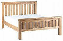 Vale Furnishers - Dorking 4ft 6in Slatted Bedstead